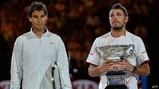 Rafael Nadal y Stanislas Wawrinka