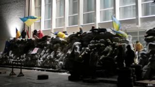 Штурм здания администрации Полтавы