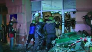 Накануне активисты освободили здание министерства юстиции