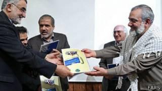 محمدرضا نقدی و علاءالدین بروجردی
