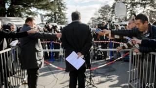 Делегат от оппозиции в Женеве