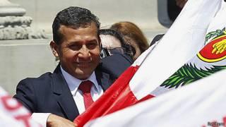 Presidente Ollanta Humala de Perú celebra el fallo de La Haya sobre límites marinos con Chile