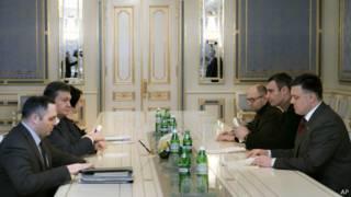 Встреча Януковича с оппозицией