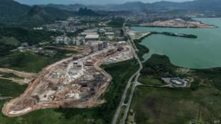 Obras da Vila Olímpica no Rio (AFP)
