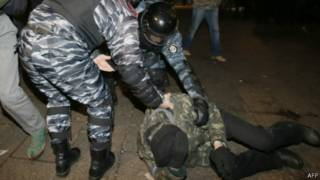 Евромайдан, беркут