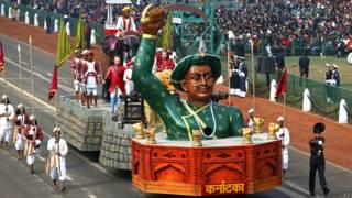 गणतंत्र दिवस परेड में कर्णाटक की झांकी