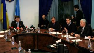 Встреча губернатора с оппозицией
