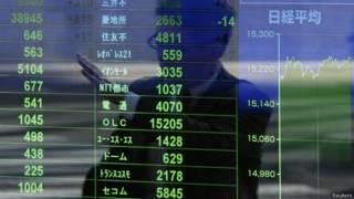 Bolsa de Tóquio, nesta quarta-feira (Reuters)