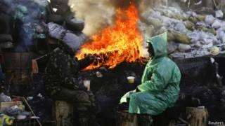 Демонстранты Евромайдана