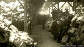 प्रथम विश्व युद्ध के दौरान सैनिकों के लिए ब्रिटेन की डाक सेवा