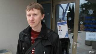 Правозащитник Семен Симонов