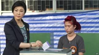 थाईलैंड संसदीय चुनाव