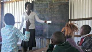 pocket optician' made from a modified smartphone is to be used by teachers in Kenya