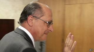 Geraldo Alckmin, gobernador de São Paulo