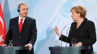 Tayyip Erdoğan ve Angela Merkel