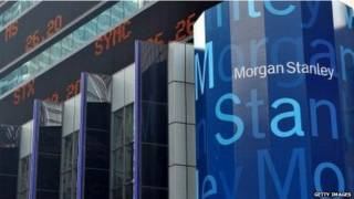 بنك مورغان ستانلي الأمريكي