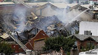 Incendio en Barracas