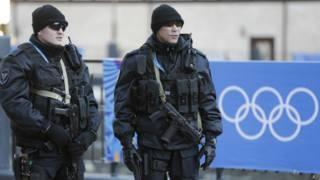 Segurança em Sochi. Foto: AP