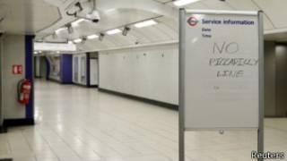 伦敦地铁罢工