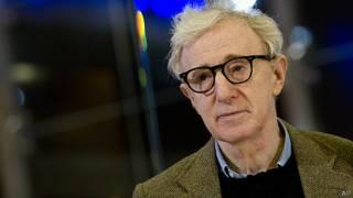 El director estadounidense Woody Allen