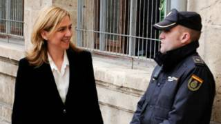 princesa Cristina chega a tribunal   Getty