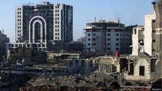 Centro de la ciudad de Homs