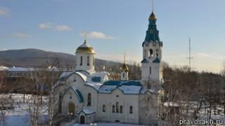 Собор Воскресения Христова в Южно-Сахалинске