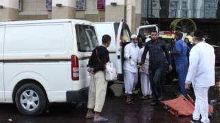 Upaya pertolongan korban di Madinah