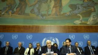 Tattaunawar sulhu kan kasar Syria a Geneva