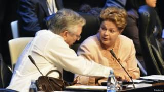 Luiz Alberto Figueiredo e Dilma Rousseff | Foto: Reuters