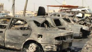 इराक़ में कार बम हमले की फ़ाइल फ़ोटो