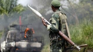 Soldado congolês (Reuters)