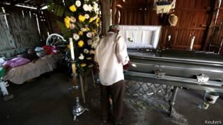 Víctima del conflicto en Michoacán