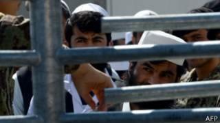 Prisioneros en Afganistán