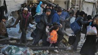 تخلیه حمص