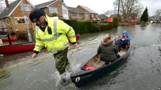 britain floods evacuation