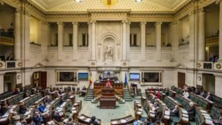 Parlamento da Bélgida. AP