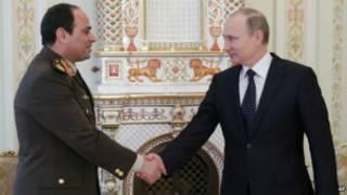 هل زيارة السيسي لموسكو مناورة مصرية؟