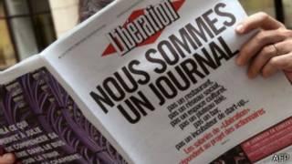 استقالة رئيس تحرير صحيفة ليبراسيون