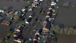 Наводнения в Англии