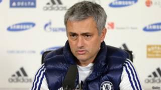 Chelsea Teknik Direktörü Jose Mourinho