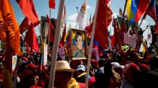 انصار مادورو في كراكاس