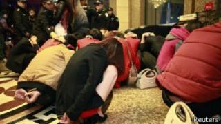 Redada en Dongguan contra la prostitución