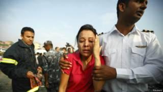 नेपाल में विमान दुर्घटना की एक फाइल फोटो