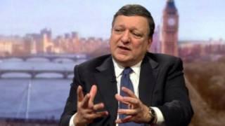 Жозе Мануэль Баррозу был гостем воскресной программы Эндрю Марра