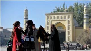 Mesquita en Xinjiang