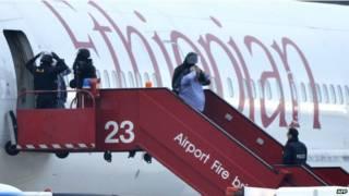 इथियोपियाई विमान