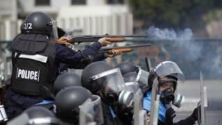 Столкновения в Бангкоке