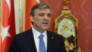 टर्की के राष्ट्रपति अब्दुल्लाह गुल