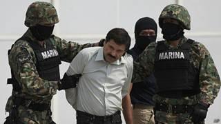 古兹曼被捕之前逃亡了13年